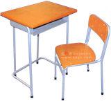 学校家具の高品質の固定単一の机及び椅子