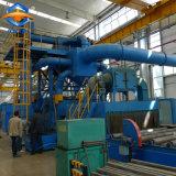 Stahlplatten-Stahlblech-Oberflächen-Reinigungs-Schuss-Böe-Maschine