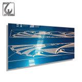 Plaque bleue d'acier inoxydable de la violette 304 de MTC d'enduit de PE de délié de SUS