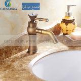 Table de mixage du bassin de bronze antique&Robinet pour salle de bains