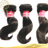 100%の実質の毛の拡張ブラジルの未加工人間の毛髪