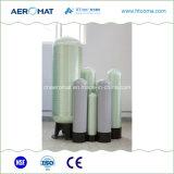 弁およびディストリビューターとインストールされる水処理FRPの容器タンク