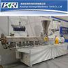 Machine en plastique de granulatoire de pelletiseur jumeau de boudineuse à vis