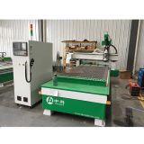 Mudança de ferramenta automática de trabalho de madeira máquina de gravura do CNC