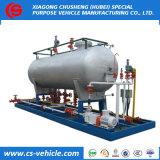 Preiswerter Preis 20m3 10tons Gas-Zylinder LPG-Schienen-Station für Nigeria kochend