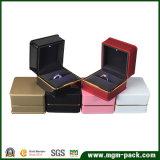 De promotie Vierkante Plastic LEIDENE Doos van Juwelen