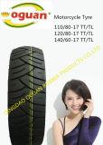 二重スポーツのタイヤ120/90-18のオートバイのタイヤ
