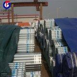Galvanisiertes Stahlgefäß/Rohr im S235jr Stahl-Grad