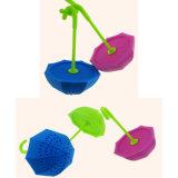 음식 급료 비독성 우산 Sahpe 실리콘 차 Infuser
