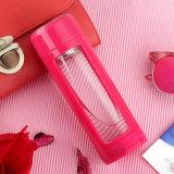 320 мл высокое качество двойные стенки бутылочки, стеклянная бутылка воды с фильтром