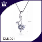 925 de echte Zilveren Halsband van de Tegenhanger van Juwelen