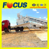 Bewegliche konkrete Mischanlage der Qualitäts-50~60cbm/H mit Rad