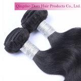 Haut de la Chine a fait noir vierge Tissage de cheveux humains péruvien Factory