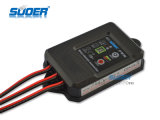 Suoer IP67 급료 방수 12V 24V 5A PWM 태양 책임 관제사 (ST-F1205)
