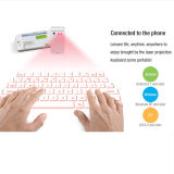 2015 Hot New Products Teclado Virtual com Laser Bluetooth com Banco de Energia Recarregável