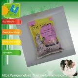 La naturaleza; la arena de gato gatos tofu