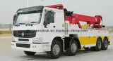 Professionnel de qualité supérieure d'alimentation de la route Sinotruk démolisseur camion de 6*4*4*2 8 4