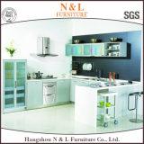 Conception simple de l'aggloméré de meubles de cuisine personnalisé