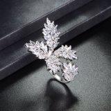 新しいデザイン卸売の製造業者の花の開いた袖口リングの宝石類