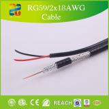 75 kabeltelevisie van het ohm overhaalt Kabel Rg59 Van uitstekende kwaliteit door Xingfa