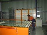 Linha de produção de moderação de vidro horizontal da fornalha