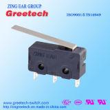 Micro-commutateur miniature pour l'appareil d'accueil de l'usine de micro-interrupteur