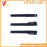 Fourniture de bureau populaire Logo imprimé Stylo à bille en plastique pour cadeaux promotionnels (YB-P-01)