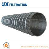 Tubo de tela de aço inoxidável de alta efetividade