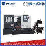 De op zwaar werk berekende prijs van de Machine van de Draaibank van het Bed van de Helling van het Metaal TC6040 CNC