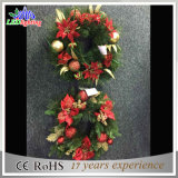 Holiday Handmade Cone Christmas Wreath Decorations Light