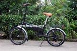 Vélo électrique pliable de pneu de 20 pouces En15194