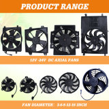 セリウムCertificationとのクーラーDC Flow Condenser Fan