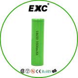 18650再充電可能な電池3.7V李イオン3500mAh