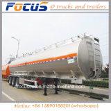 Reboque móvel de aço de alumínio do caminhão do silo do petroleiro para países árabes