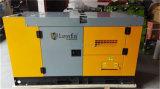 China-Lieferanten-super leiser Diesel Engine15kVA, der Set festlegt