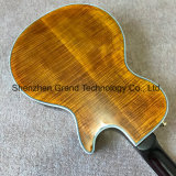 흑단 Fretboard (GLP-711)를 가진 두 배 F 구멍 프레임 단풍나무 상단 Lp 왼손 일렉트릭 기타