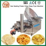 세륨에 의하여 증명되는 가스 난방 감자 칩 깊은 프라이팬 기계