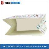 Sacchetto bianco della carta kraft del sacchetto di imballaggio per alimenti