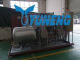 Petróleo da pirólise do pneu do desperdício da eficiência elevada que recicl a máquina