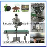 El cuadrado caliente de la venta sacude la máquina de rellenar del polvo de la mantequilla de cacahuete para la industria alimentaria