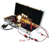 Tube d'ampoule de l'usine DEL et compteur d'électricité de gestionnaire de DEL pour le pouvoir du lux le TDC, appareil de contrôle de pf