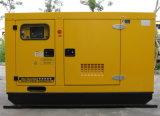 комплект генератора 128kw/160kVA Cummins акустический молчком тепловозный