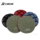 Polimento de diamantes 4 Polegada Wet/Dry 8 pedaços de pedra de granito