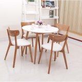 Mobilia della casa della tavola rotonda di legno solido delle BS per mobilia moderna