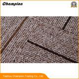 Goma comercial respaldado Losetas, baldosas de alfombras con el respaldo, puntos de PVC antideslizante ecológico 100% de respaldo de polipropileno Mpc Losetas de Jacquard