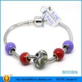 Kundenspezifischer Form-Schmucksachenrhinestone-Charme, Raupe-Charme-Armband-Großverkauf