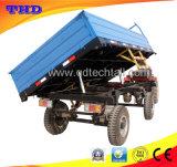 Сила оборудования земледелия трейлер трактора лужайки, Tipper ATV лужайка и сад трейлера задего фермы коробки сброса аграрные