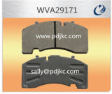 반 BPW Saf (WVA29171)를 위한 금속 차 버스와 트럭 브레이크 패드