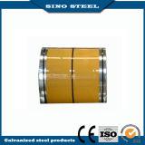 Hoja de acero galvanizada prepintada usada para la construcción
