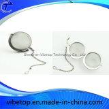 La alta precisión de hardware de la cocina de acero inoxidable colador de té